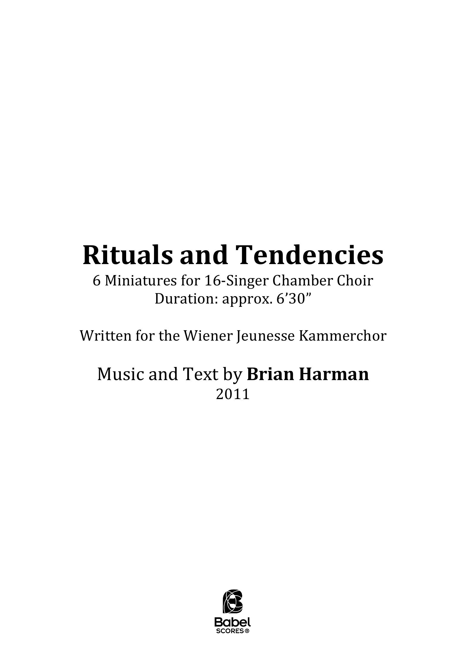 Rituals and Tendencies Complete A4 z