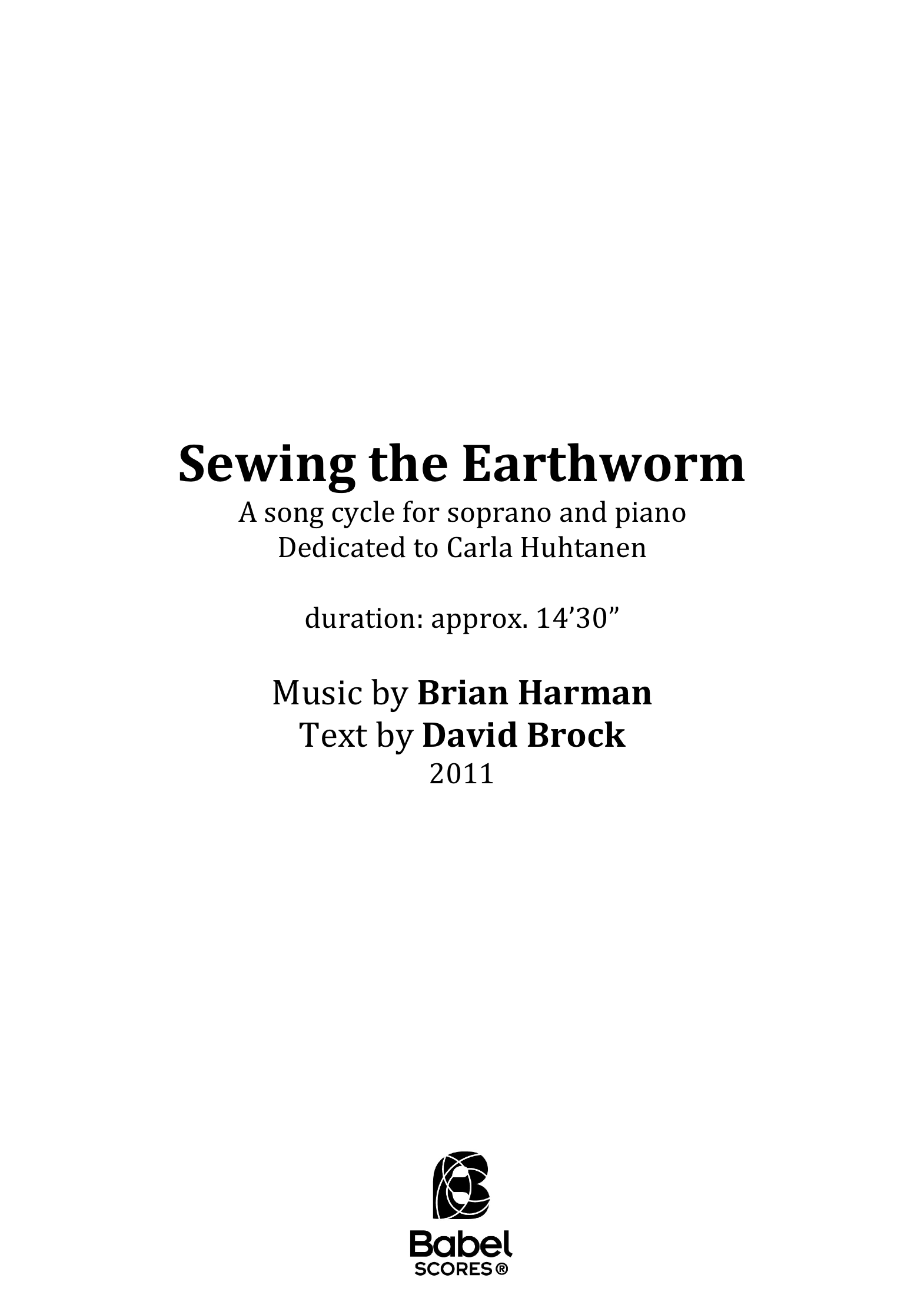 Sewing the Earthworm A4 z