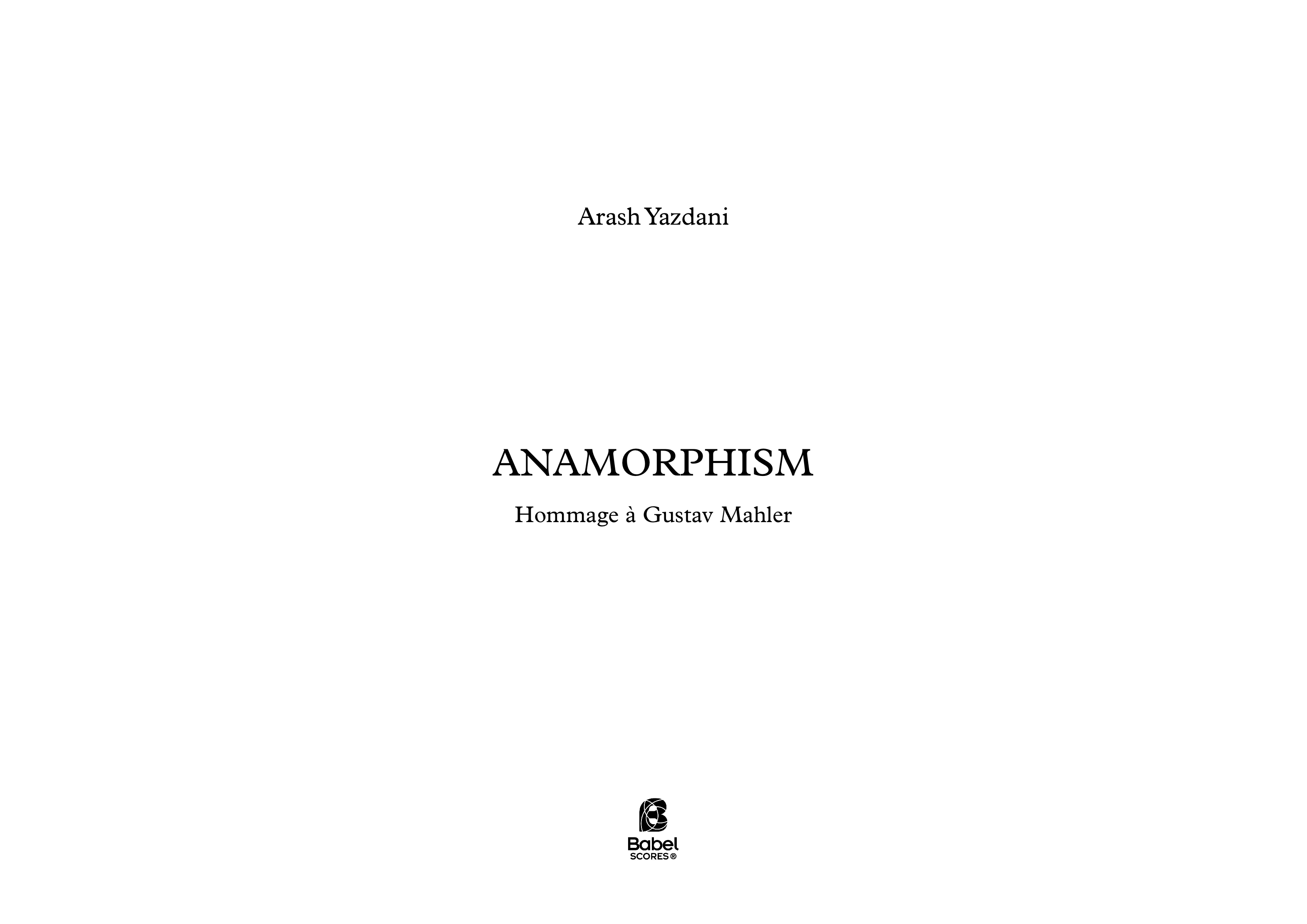 Anamorphism A3 z
