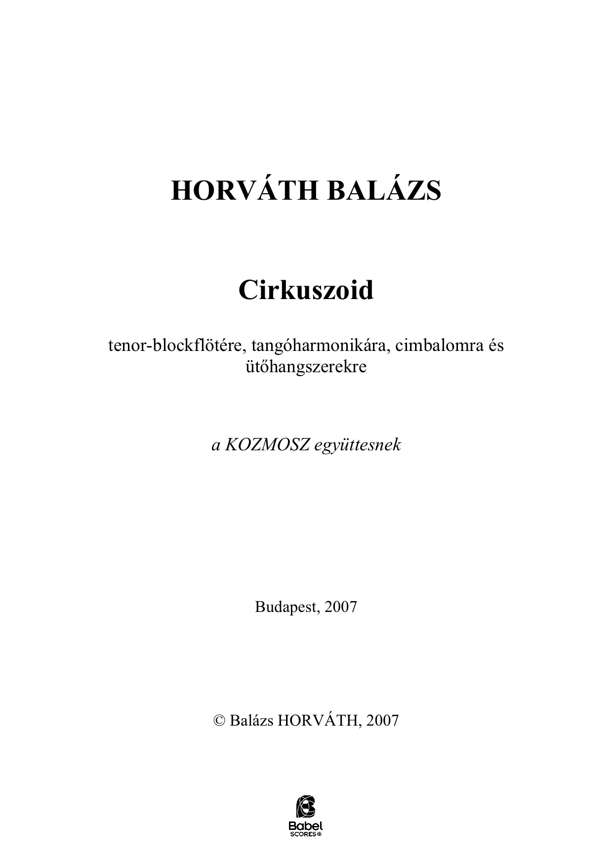 Cirkuszoid score version 1 A4 z 1 441