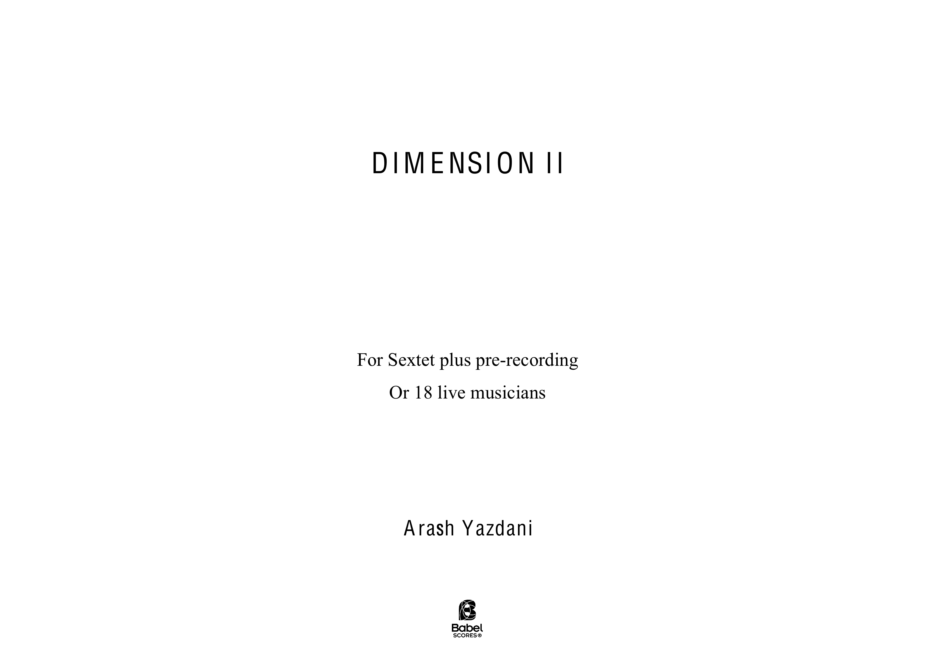 DIMENSION II A3 z