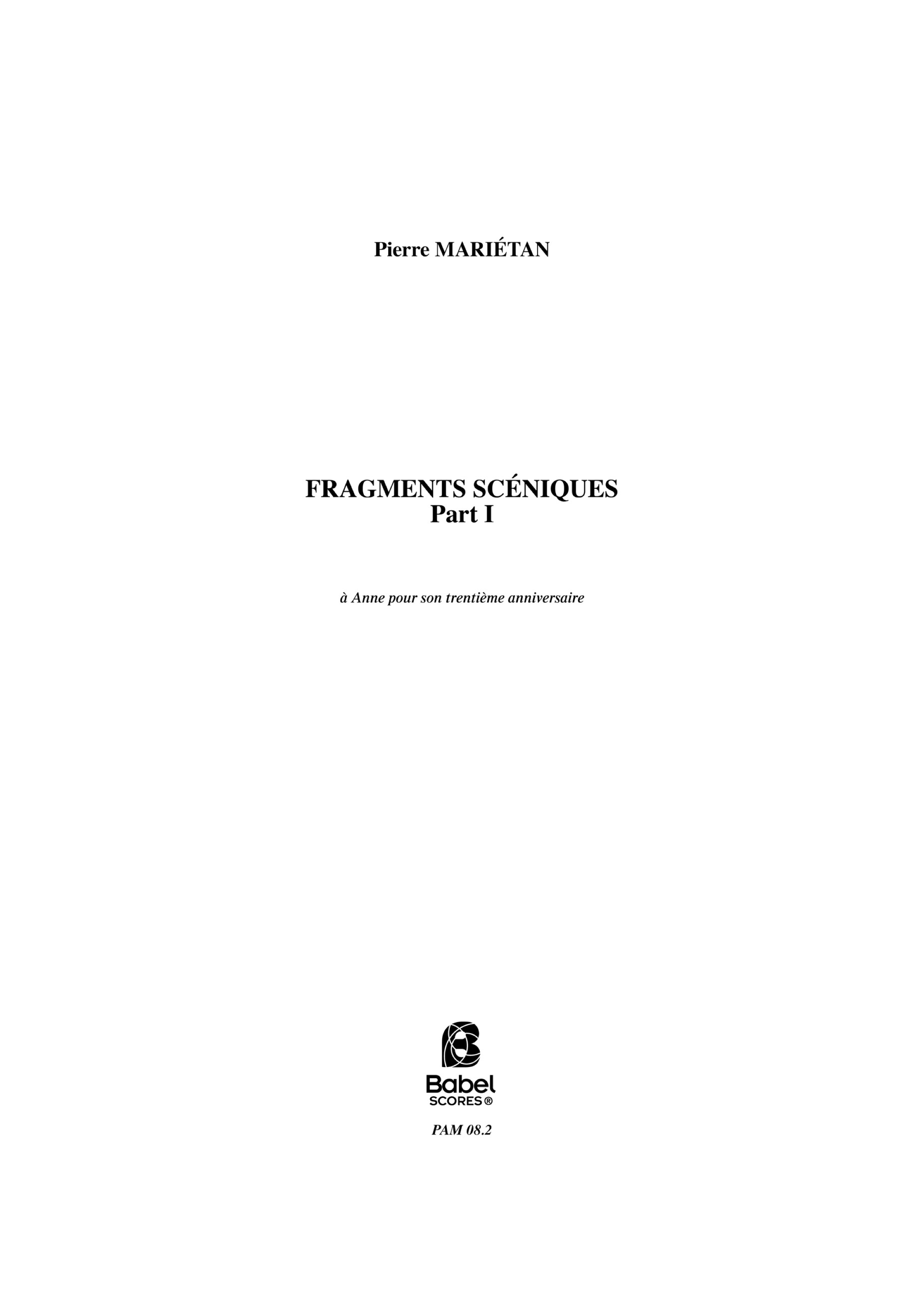 Fragmentssceniques z