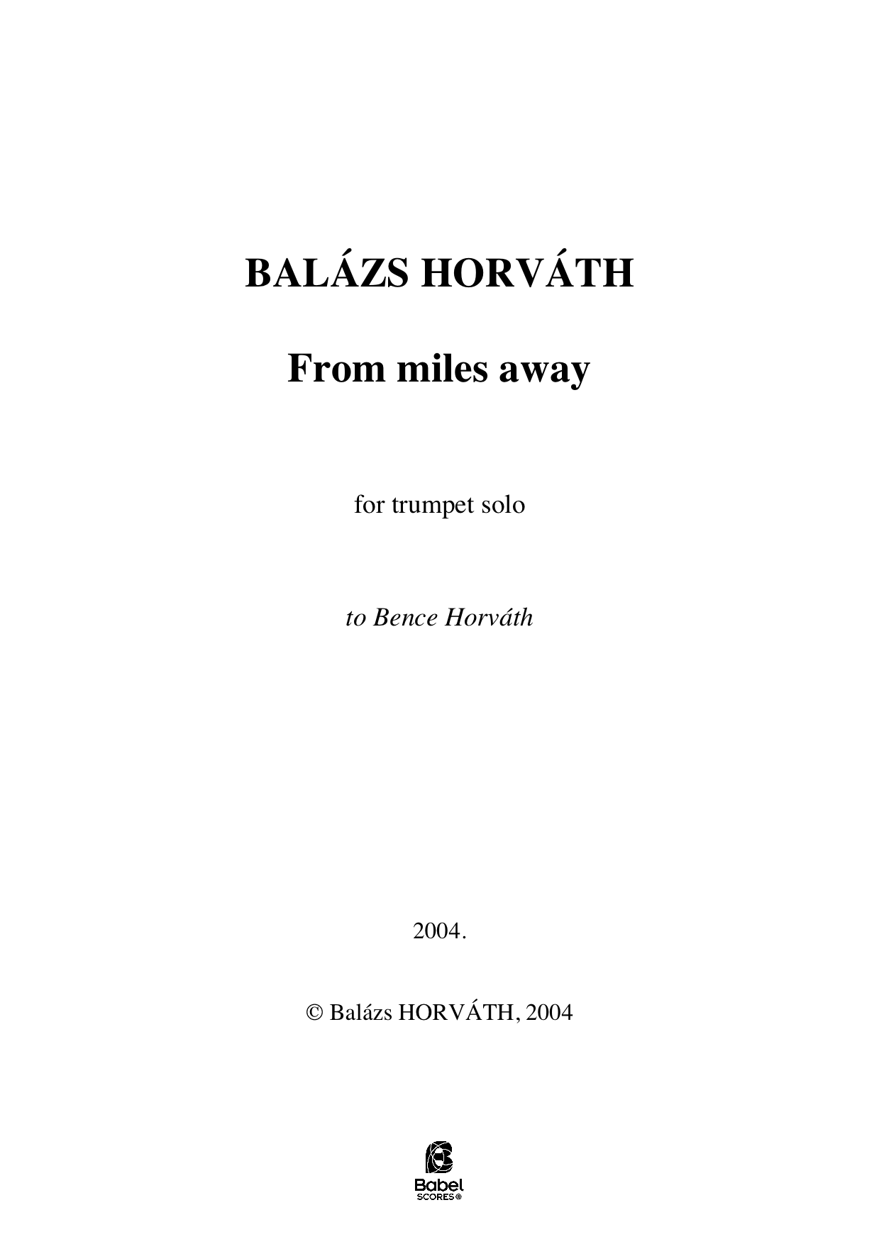 From miles away Balazs HORVATH A4 z 1 577