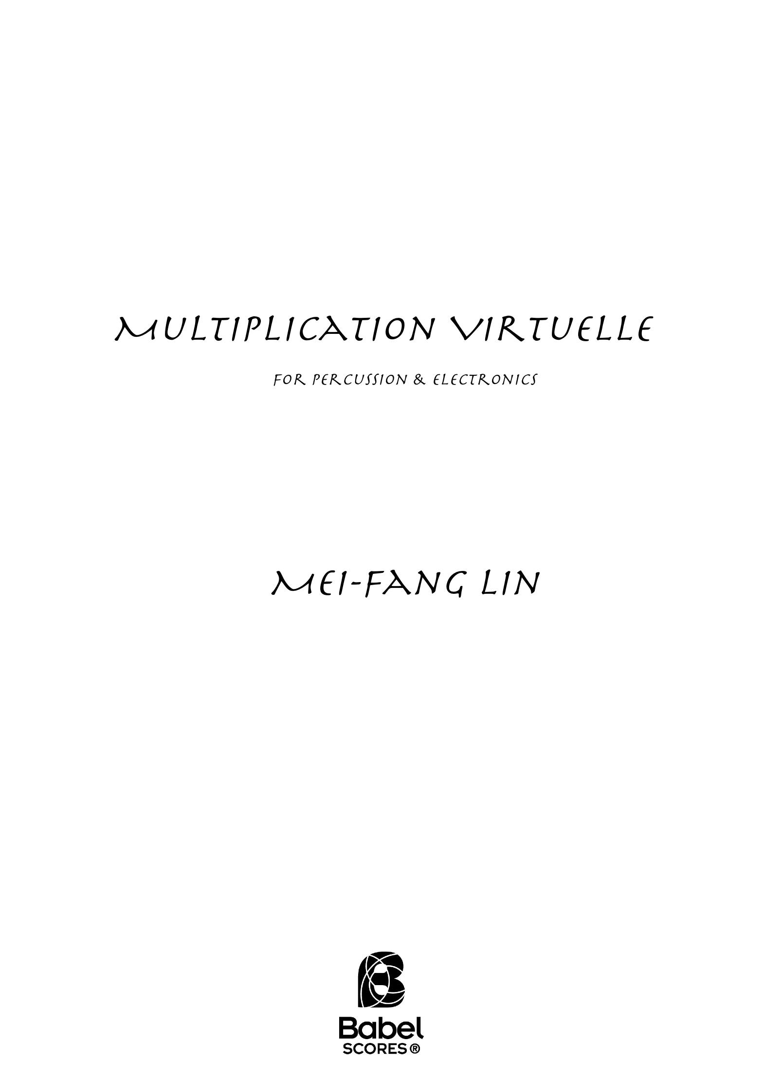 Multiplication Virtuelle A4 z