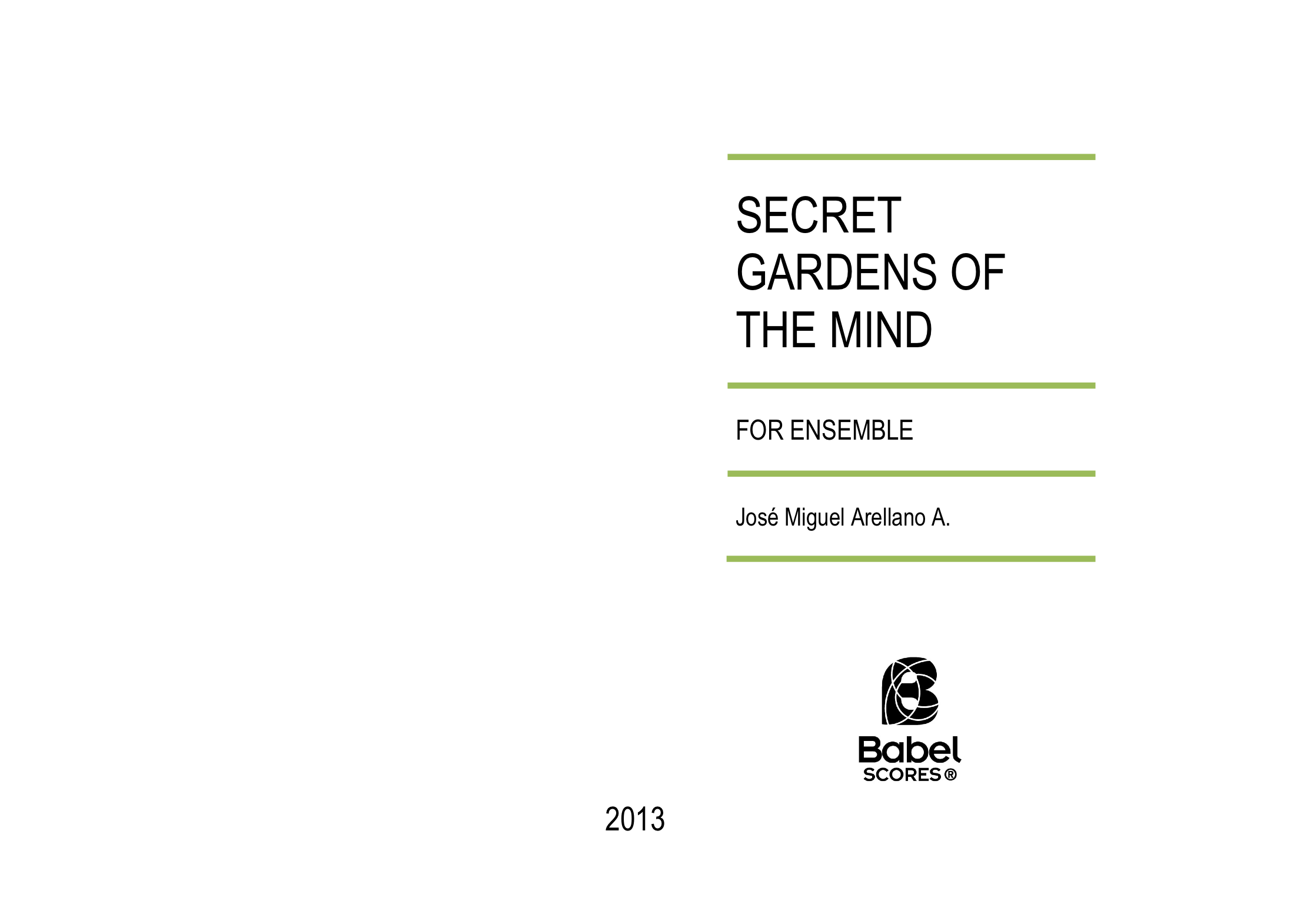 SECRET GARDENS OF THE MIND A4 z