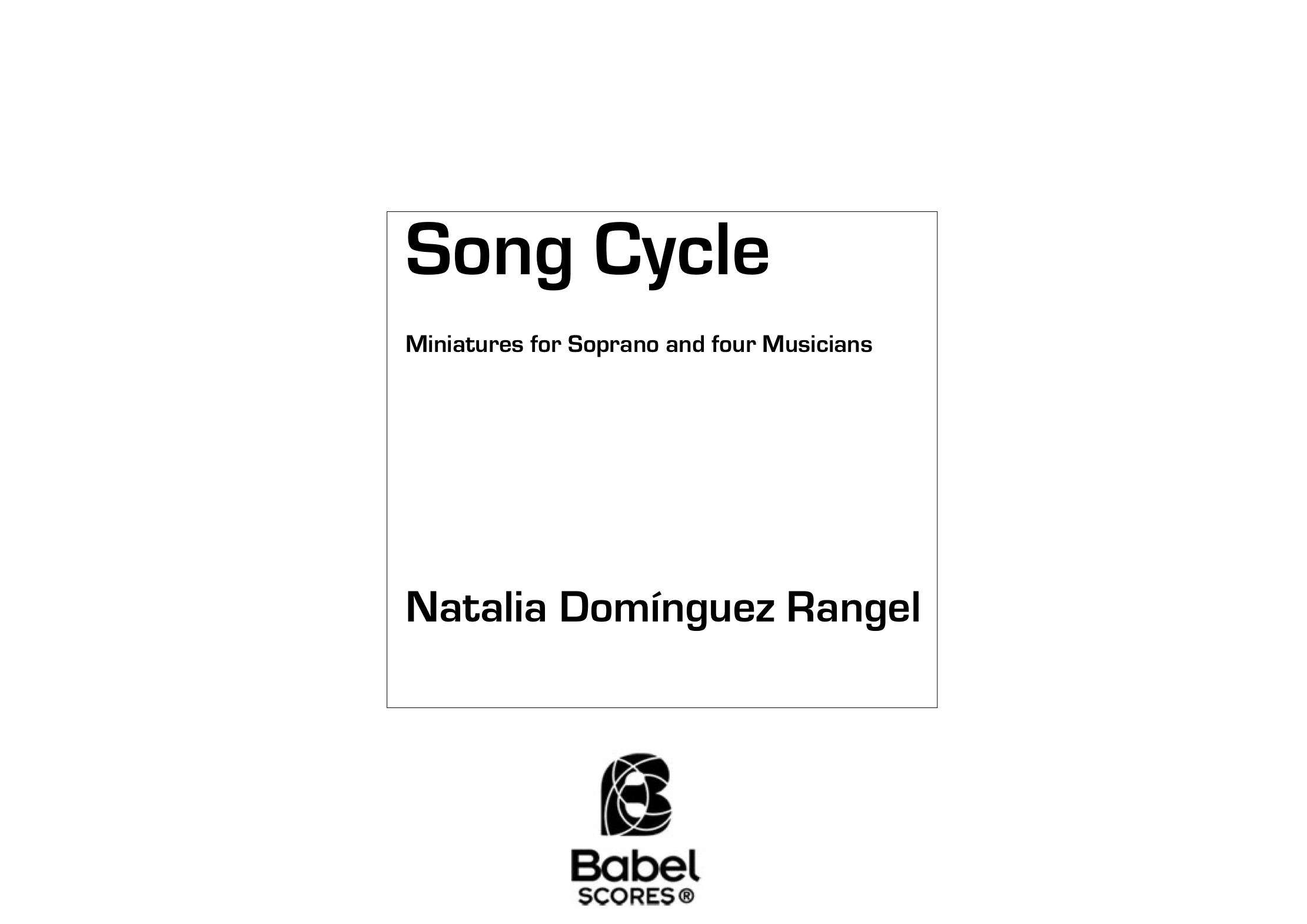 SongCycle DominguezRangel_BS