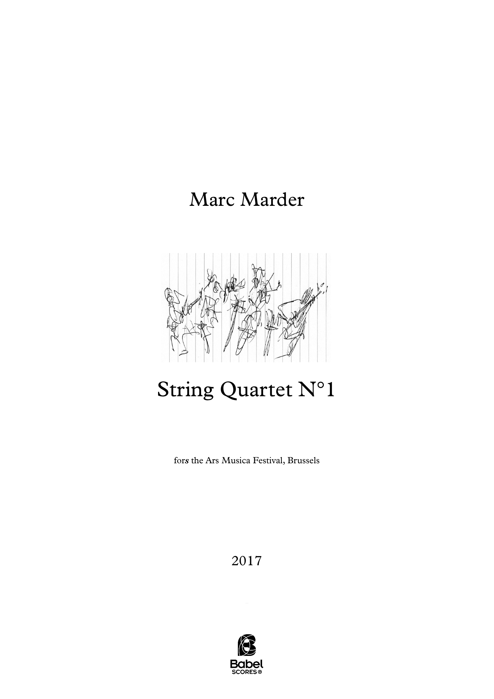 String Quartet N 1 A4 z 2 267 1 251