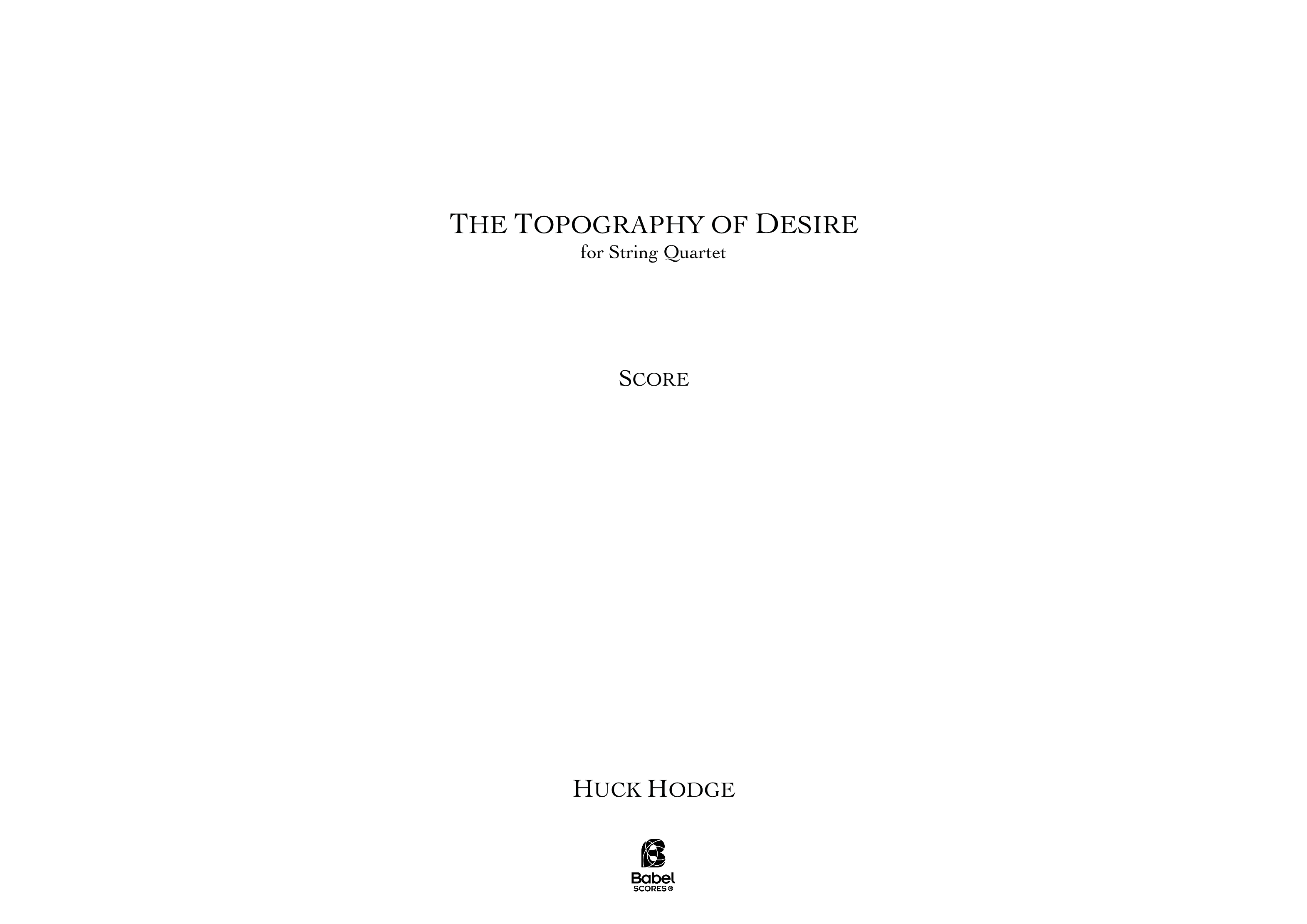The Topography of Desire A3 z 3 1 594