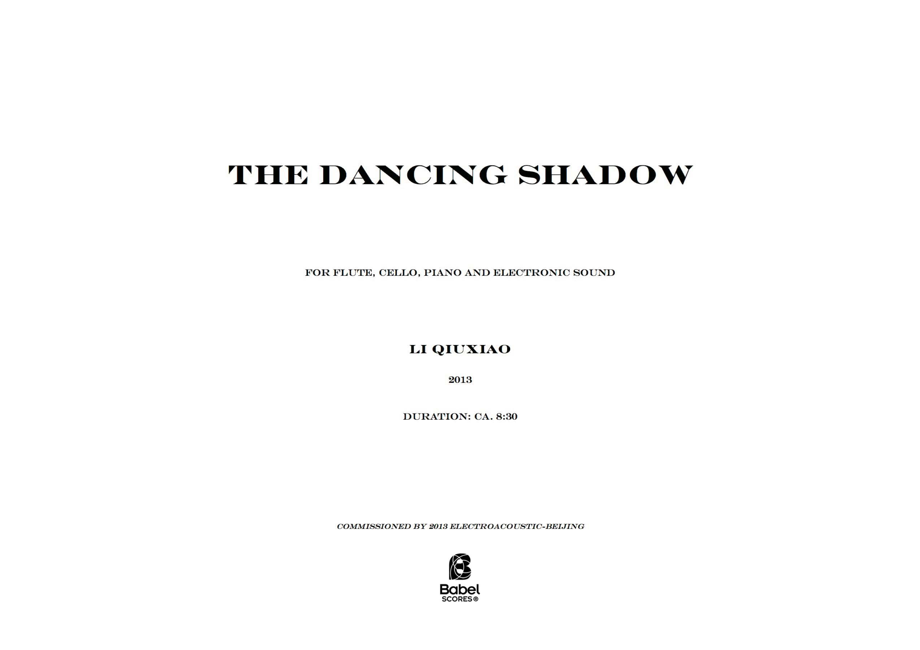 The dancing shadow A3 z
