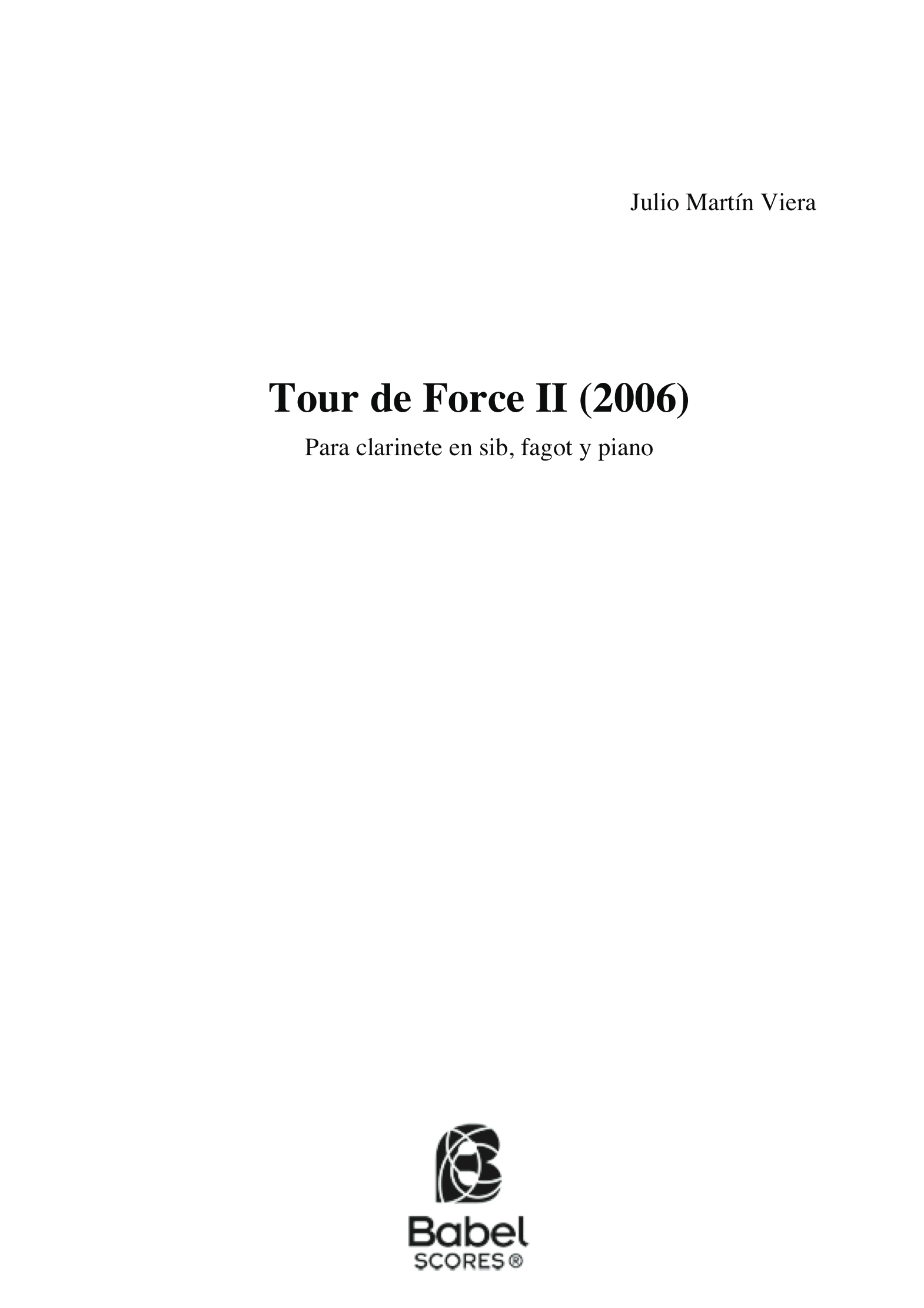 Tour de force trio 2006 z
