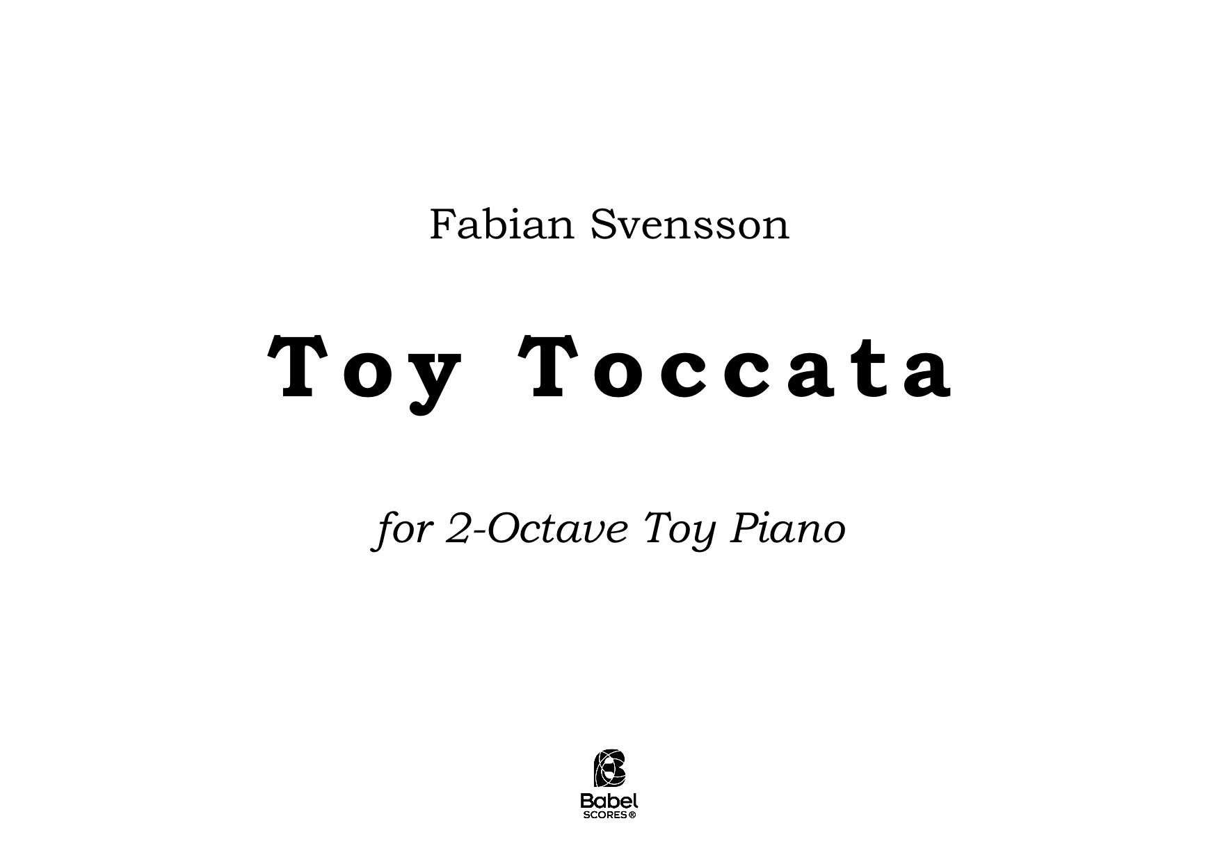Toy Toccata A4 z 3 1 265