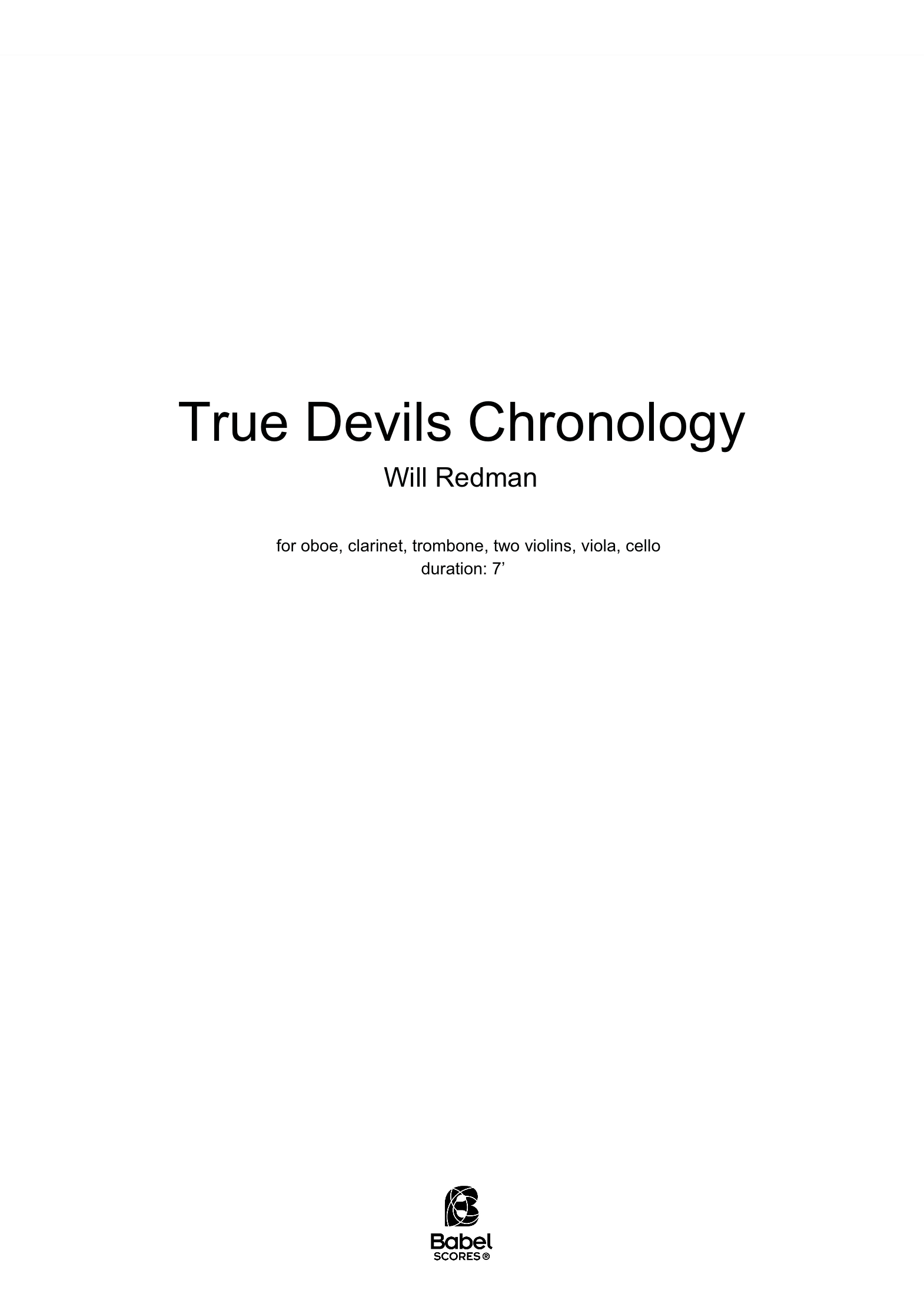 True Devils Chronology A4 z