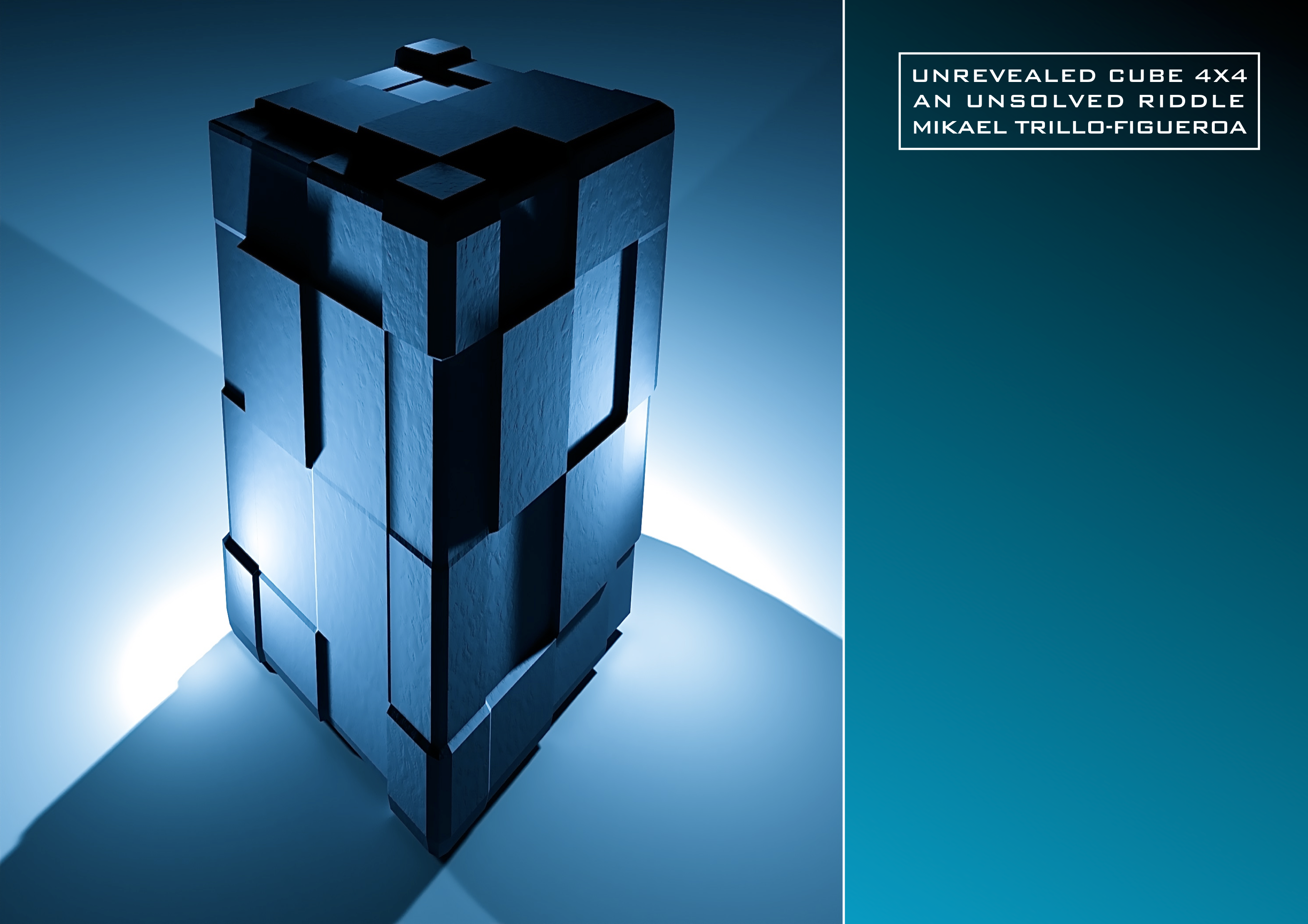 Unrevealed Cube 4x4 new Version double A3 z