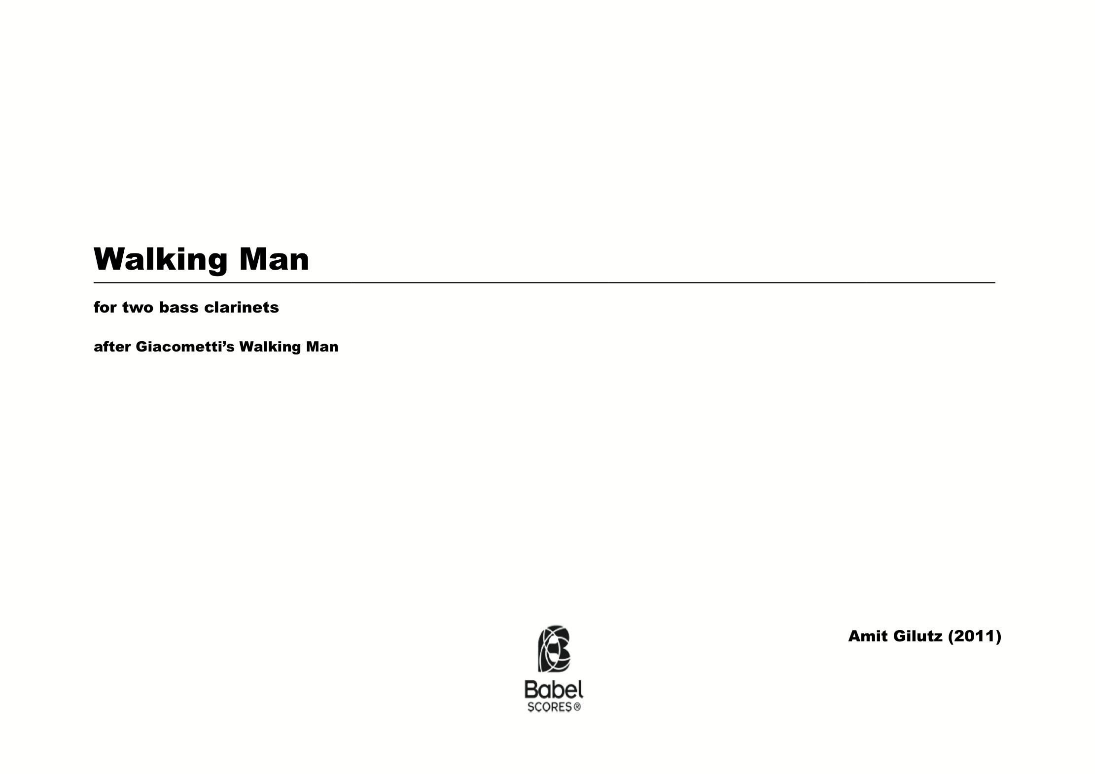 Walking Man z