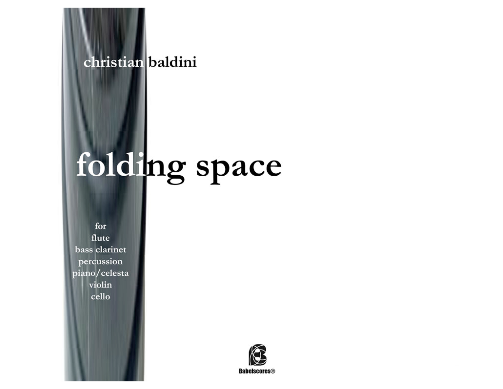 folding space full score Baldini