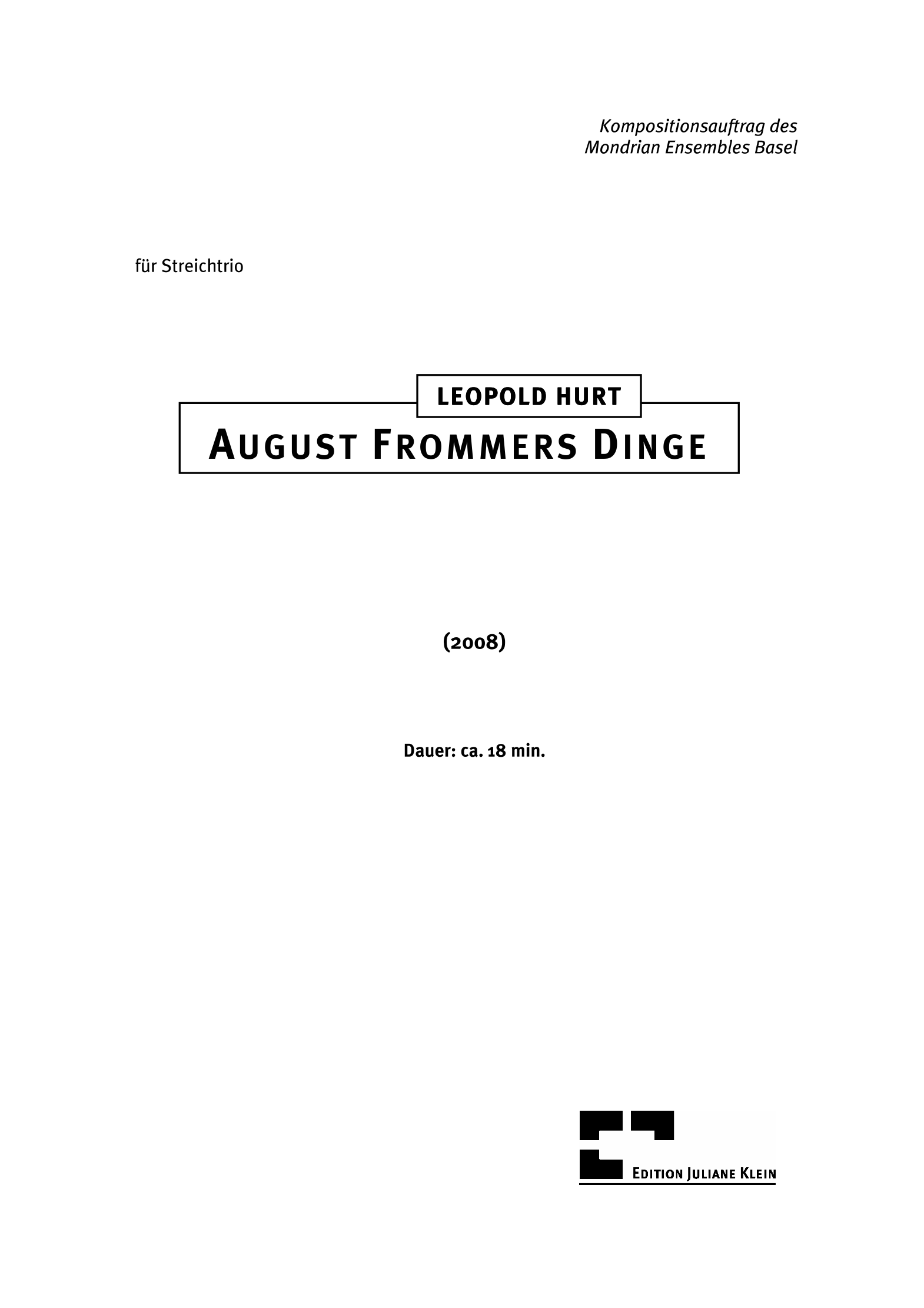 hurt_august frommers dinge z