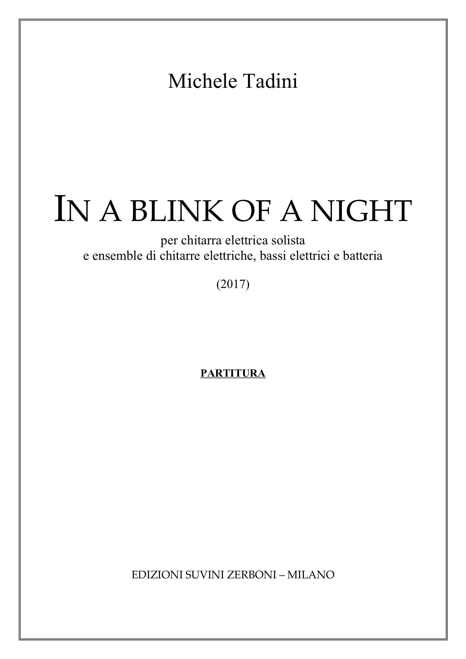 in a Blink of a night_Tadini 1