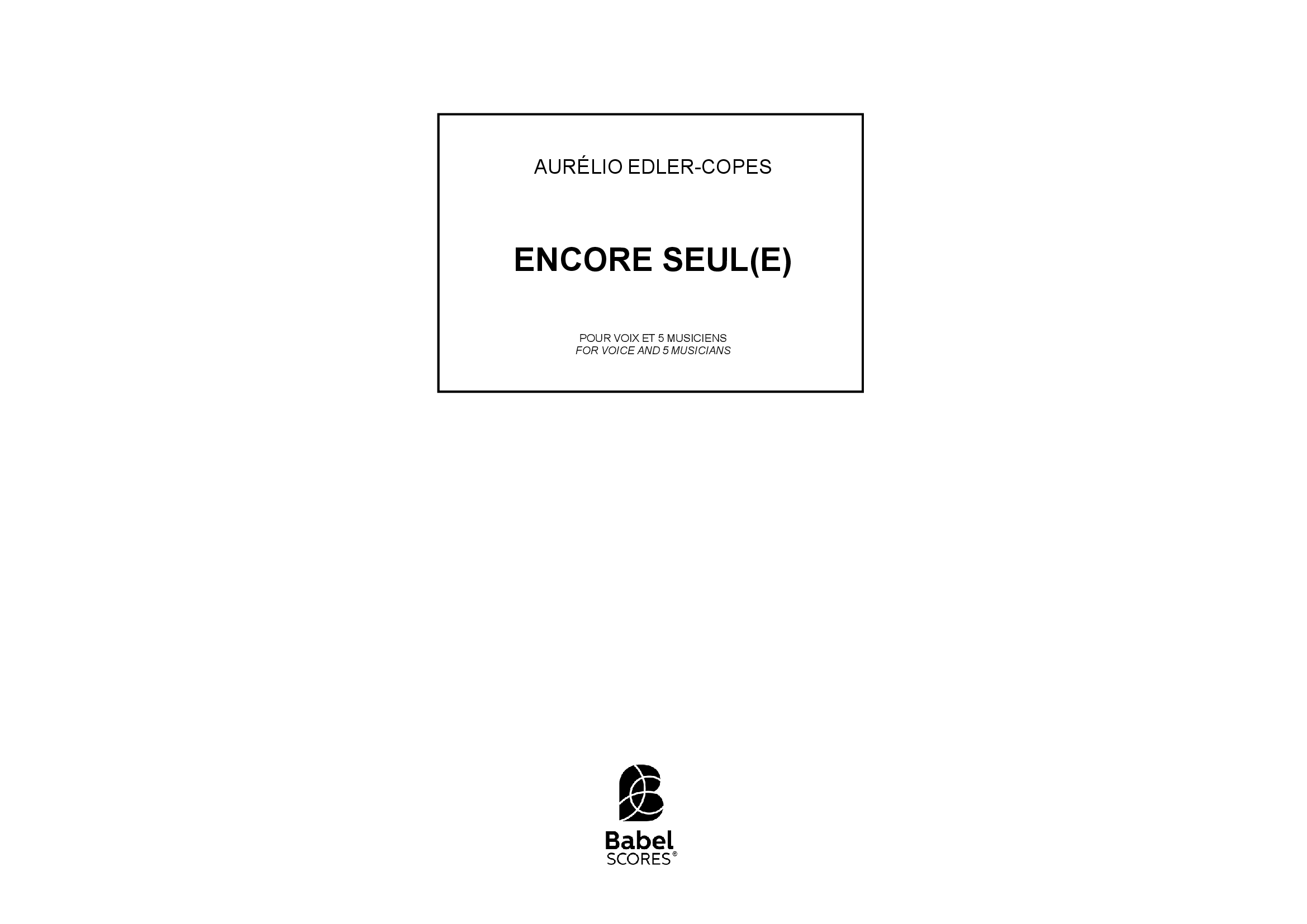 EncoreS soprano and ensemble A4 z