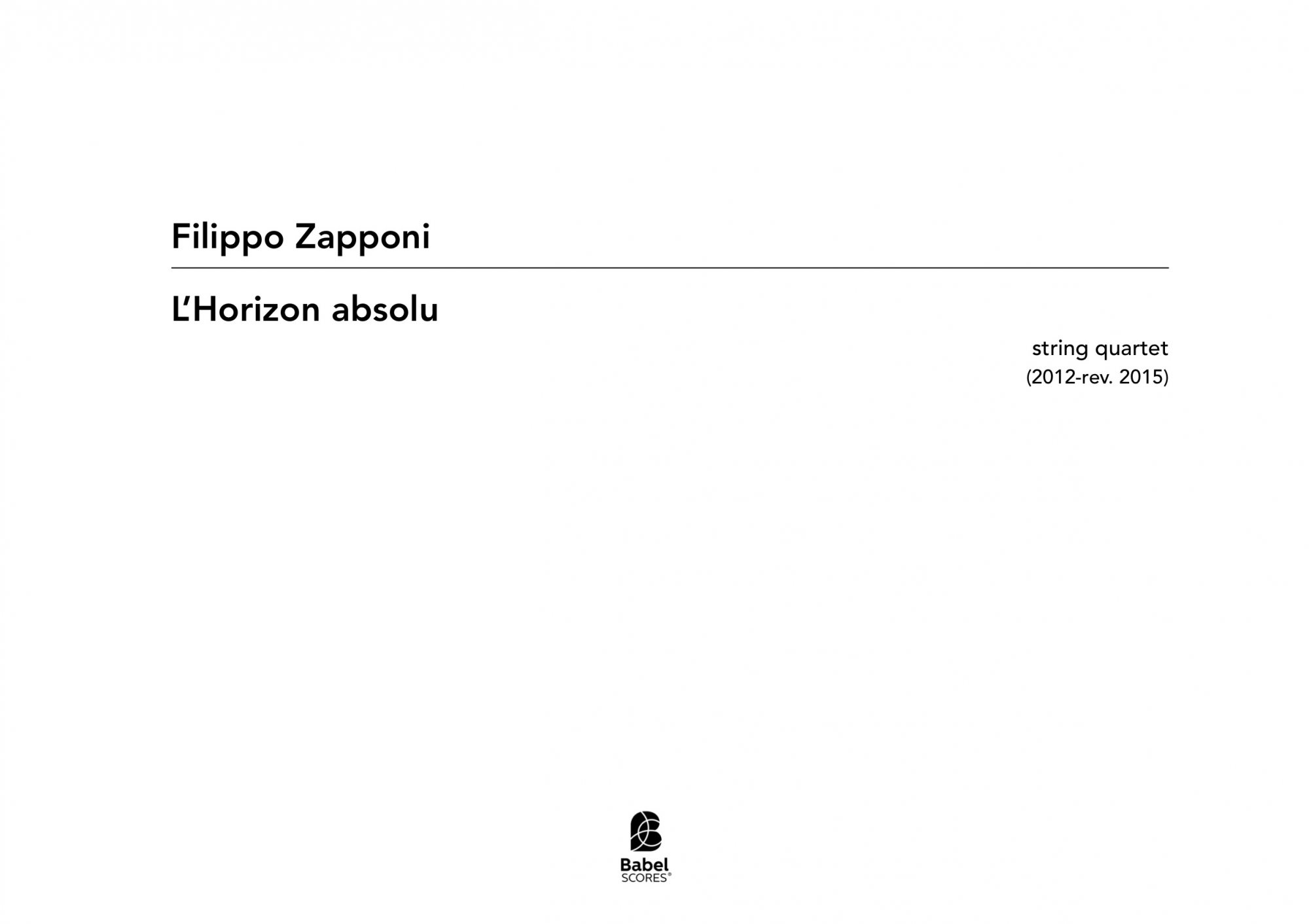 L Horizon Absolu A3 z 3 88 1 13