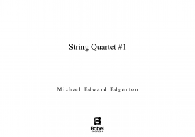 String Quartet #1 image