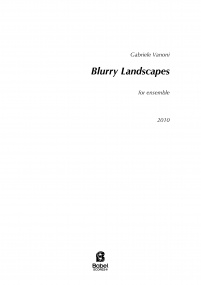 Blurry Landscapes