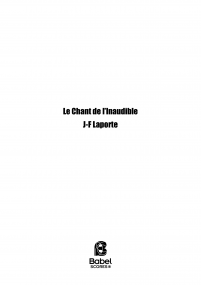 Le Chant de L'inaudible
