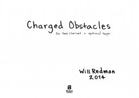Charged Obstacles A4 z