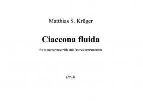 Ciaccona fluida