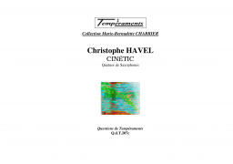 Cinetic Cristophe Havel A4 3 1 450