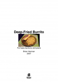 Deep Fried Burrito