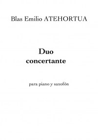 Duo Concertante- Piano (Trans. Original) 1