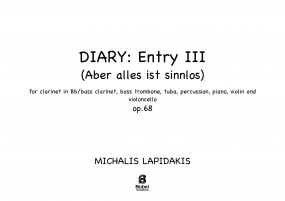 Diary: Entry III (Aber alles ist sinnlos) image