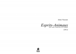 Esprits Animaux for violin cello and live computer A3 z