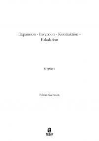 Expansion  Inversion  Kontraktion  Eskalation