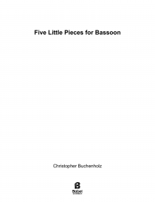 Five Little Pieces for Bassoon