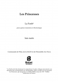 Les Princesses - Forêt IV V
