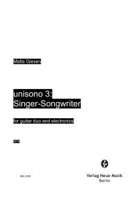unisono 3: Singer-Songwriter