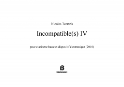 Incompatible(s) IV