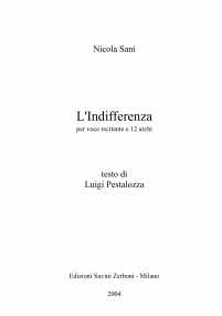 L indifferenza image