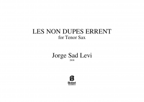 Les non dupes errent