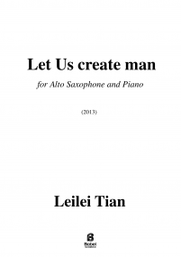 Let Us create man