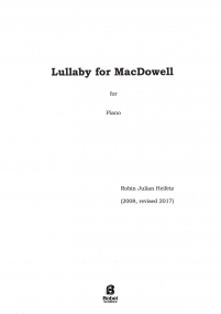 Lullaby for MacDowell