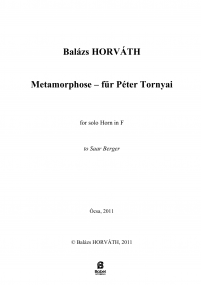 Metamorphose Balazs HORVATH A4 z 1 617