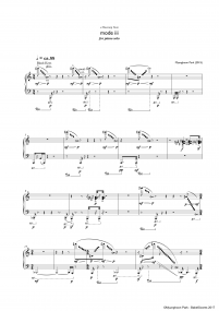 Mode iii for piano solo A4 z 2 194 7 53