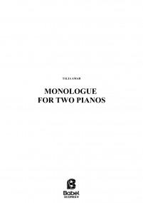 Monologue for two pianos image