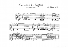 Narrative Is Fugitive A4 z 7