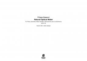 Natural Optical Water