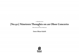 Nineteen Thoughts on an Oboe Concerto image