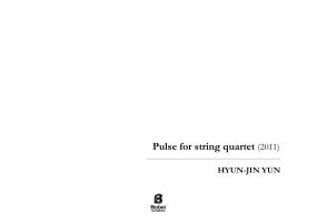 Pulse for String Quartet A4 z 3 1 459