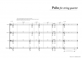 Pulse for String Quartet A4 z 3 7 465